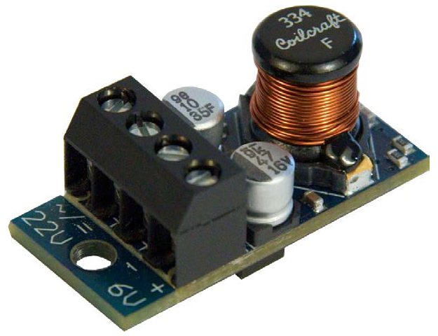 Massoth eMOTION 6V Fixed Voltage Regulator