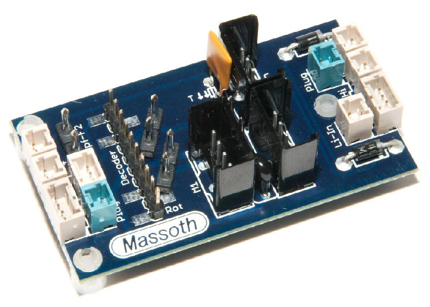 Massoth eMOTION DCC Adapter Board